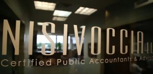 Nisivoccia certified public accountants and advisors office sign